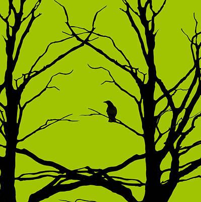 Lime Digital Art - Sitting Around Prt 2 by Lourry Legarde