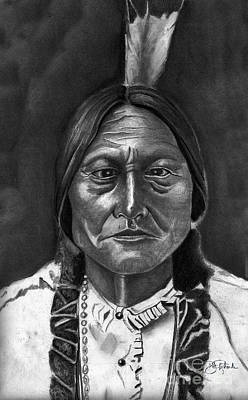 Sitting Bull Original by Bill Richards