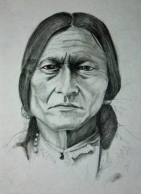 Sitting Bull Original by Jason Reid
