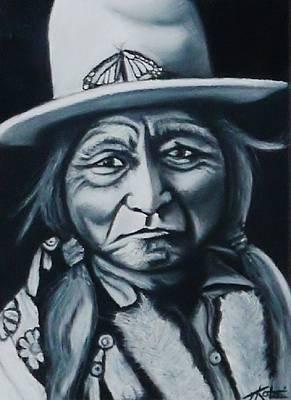 Sitting Bull Original by Treacey Kotze