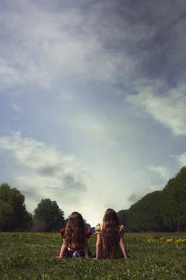 Sitting On The Meadow Print by Joana Kruse