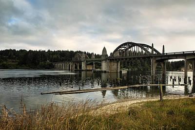 Siuslaw River Bridge Print by Belinda Greb