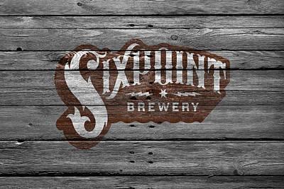 Hop Photograph - Sixpoint Brewery by Joe Hamilton