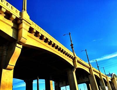 Bridge Of Los Angeles Print by Artemisa