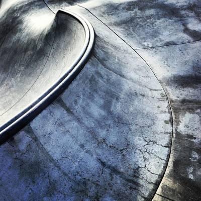 Skate Print by Jeff Klingler