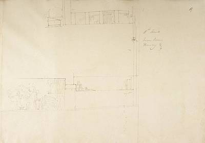 Tomb Photograph - Sketch Of The Tombs At Gourna In Egypt. by British Library