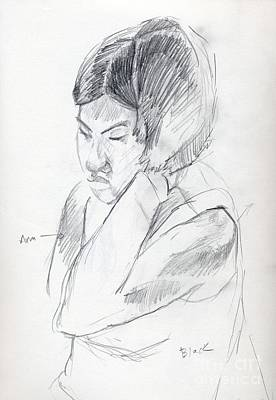 Whistler Drawing - Sketch by Whistler Kenworthy
