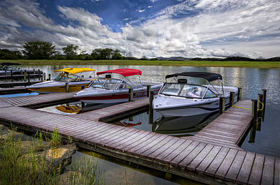 Everglades Photograph - Ski Nautique by Debra and Dave Vanderlaan