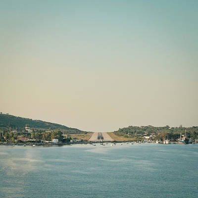 Final Photograph - Skiathos Airport by Tom Gowanlock