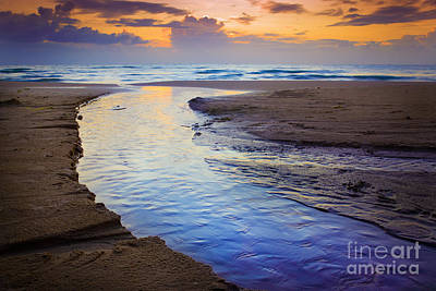 Danish Photograph - Skiveren Beach by Inge Johnsson