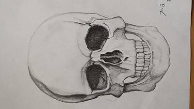Skull Print by Jan Grusovnik