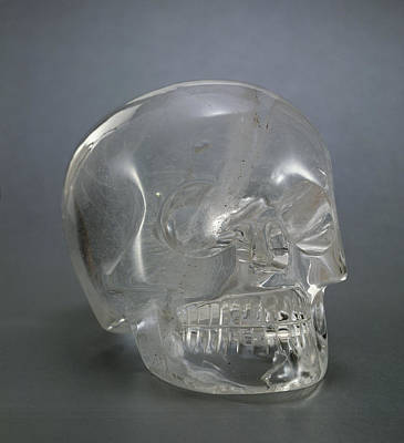 Artefact Photograph - Skull Rock Crystal by European