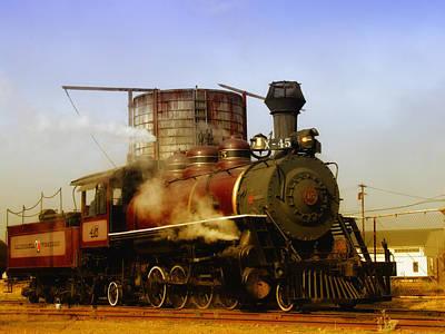Mendocino Photograph - Skunk Train by Donna Blackhall