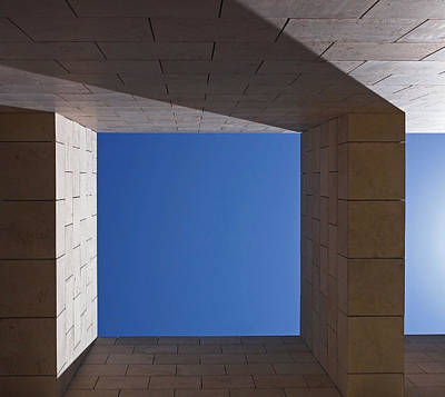 Fine Photograph - Sky Box At The Getty  by Rona Black