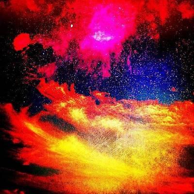Photograph - Sky Fire by Benjamin Prater