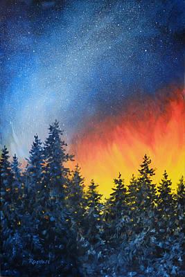 Sky Fire Original by Richard De Wolfe