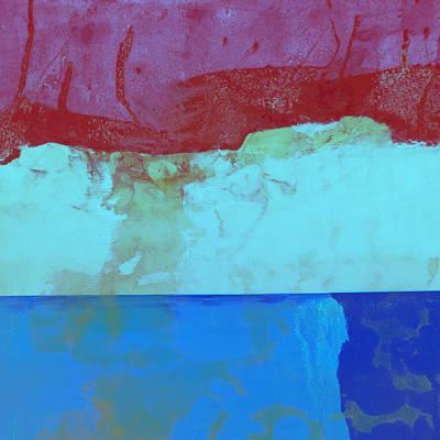 Sky Into The Sea Print by Carol Leigh