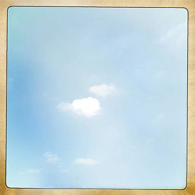 Sky Print by Les Cunliffe