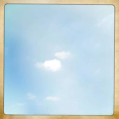 Fresh Air Photograph - Sky by Les Cunliffe