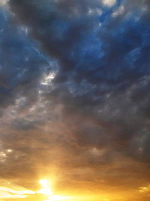 Cloudscape Digital Art - Sky Moods - Contemplation by Glenn McCarthy