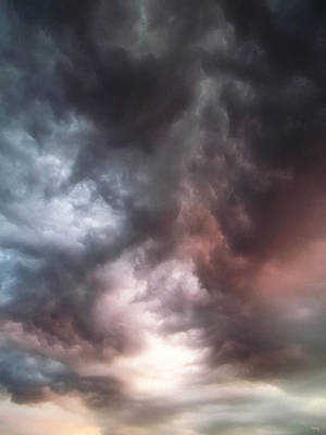Cloudscape Digital Art - Sky Moods by Glenn McCarthy