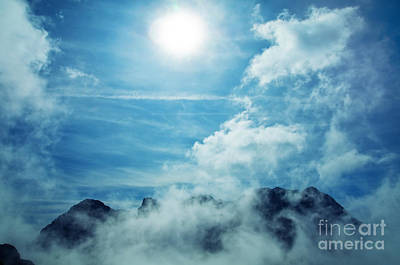 Countryside Photograph - Sky Mountains Landscape by Michal Bednarek