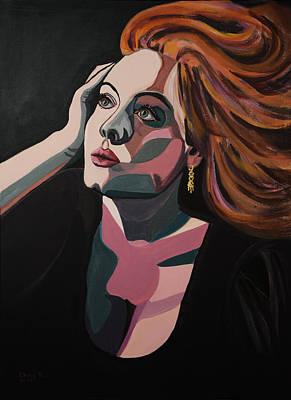 Adele Painting - Skyfall by Christel  Roelandt