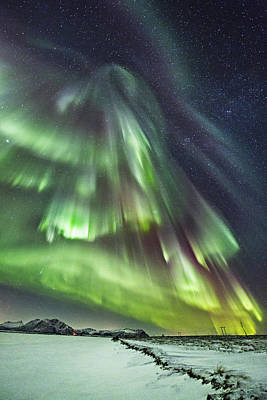Norway Photograph - Skyfall by Frank Olsen