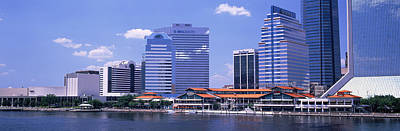 Skyline Jacksonville Fl Usa Print by Panoramic Images