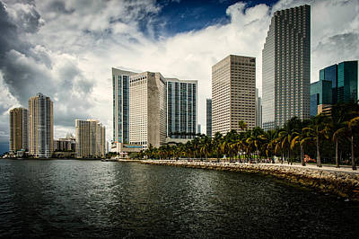 Miami Skyline Photograph - Skyline Miami by Scott Mullin