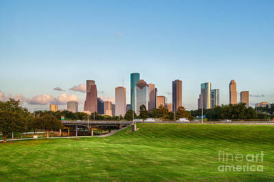 City Scenes Photograph - Skyline Of Houston by Tod and Cynthia Grubbs