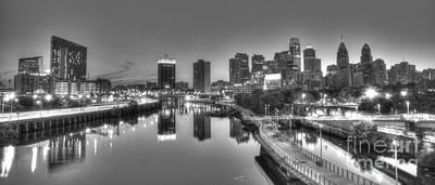 Williams Dam Photograph - Skyline Reflections by Mark Ayzenberg