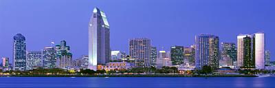 Skyline, San Diego, California, Usa Print by Panoramic Images