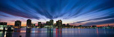 Orleans Photograph - Skyscrapers At The Waterfront, New by Panoramic Images