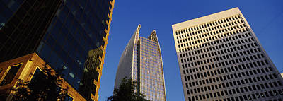 Skyscrapers In A City, Atlanta, Fulton Print by Panoramic Images