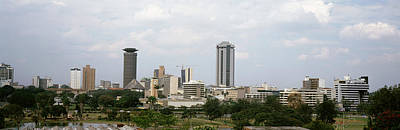 Nairobi Photograph - Skyscrapers In A City, Nairobi, Kenya by Panoramic Images