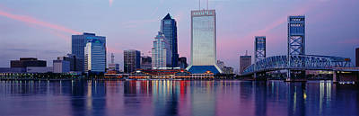 Skyscrapers On The Waterfront, St Print by Panoramic Images
