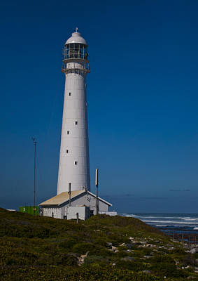 Tom Hudson Photograph - Slangkop Lighthouse by Tom Hudson