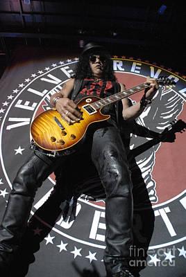 Music Artist Photograph - Slash Guitarist by Jenny Potter