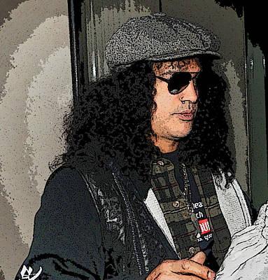Slash Of Guns N Roses  Original by Paul Sutcliffe