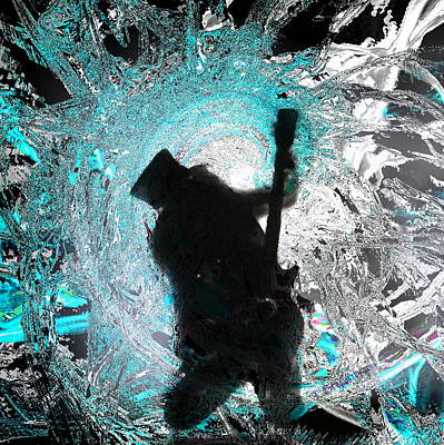 Slash Mixed Media - Slash by Thomas Bryant