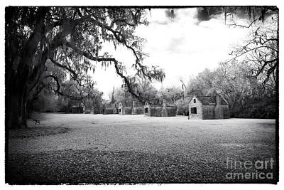 Old School Houses Photograph - Slave Quarters by John Rizzuto
