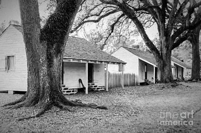 Slave Quarters Oak Alley Plantation Print by Kathleen K Parker