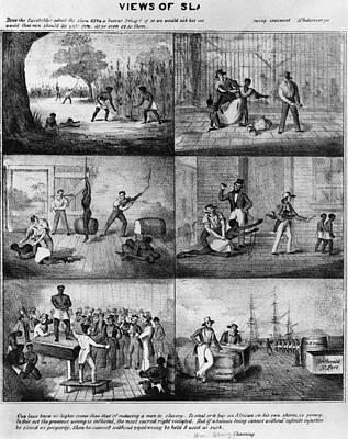 Slavery, 1861 Print by Granger