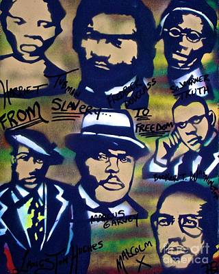 Tony B. Conscious Painting - Slavery To Freedom by Tony B Conscious