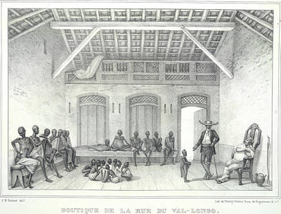 Slaves Photograph - Slaves In A Room by British Library