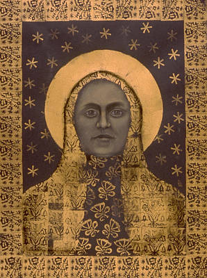 Slavic Mother Goddess Print by Diana Perfect