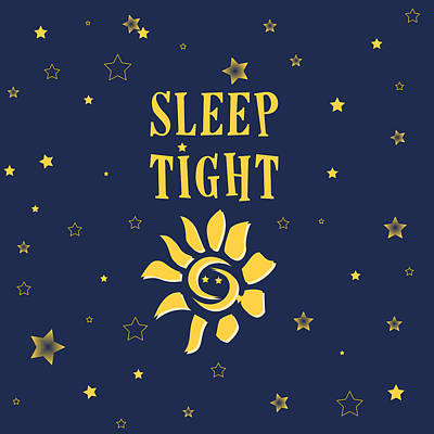 Bed Digital Art - Sleep Tight by Celestial Images