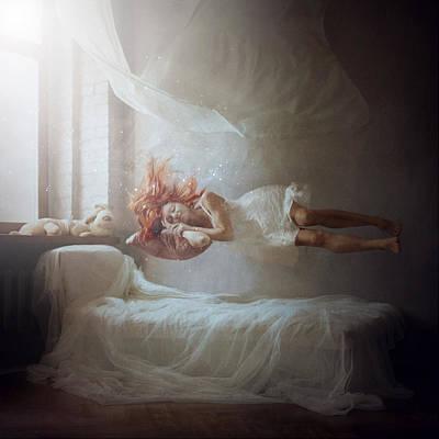 Fantasy Photograph - Sleeping by Anka Zhuravleva