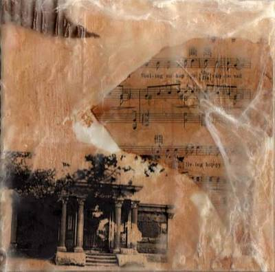 Old Sheet Music Mixed Media - Sleeping I by Terri  Willits